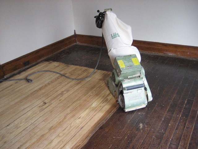 Hardwood floor refinishing for Sanding hardwood floors