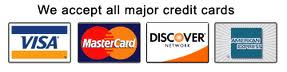 Premier Hardwood accepts all major credit cards
