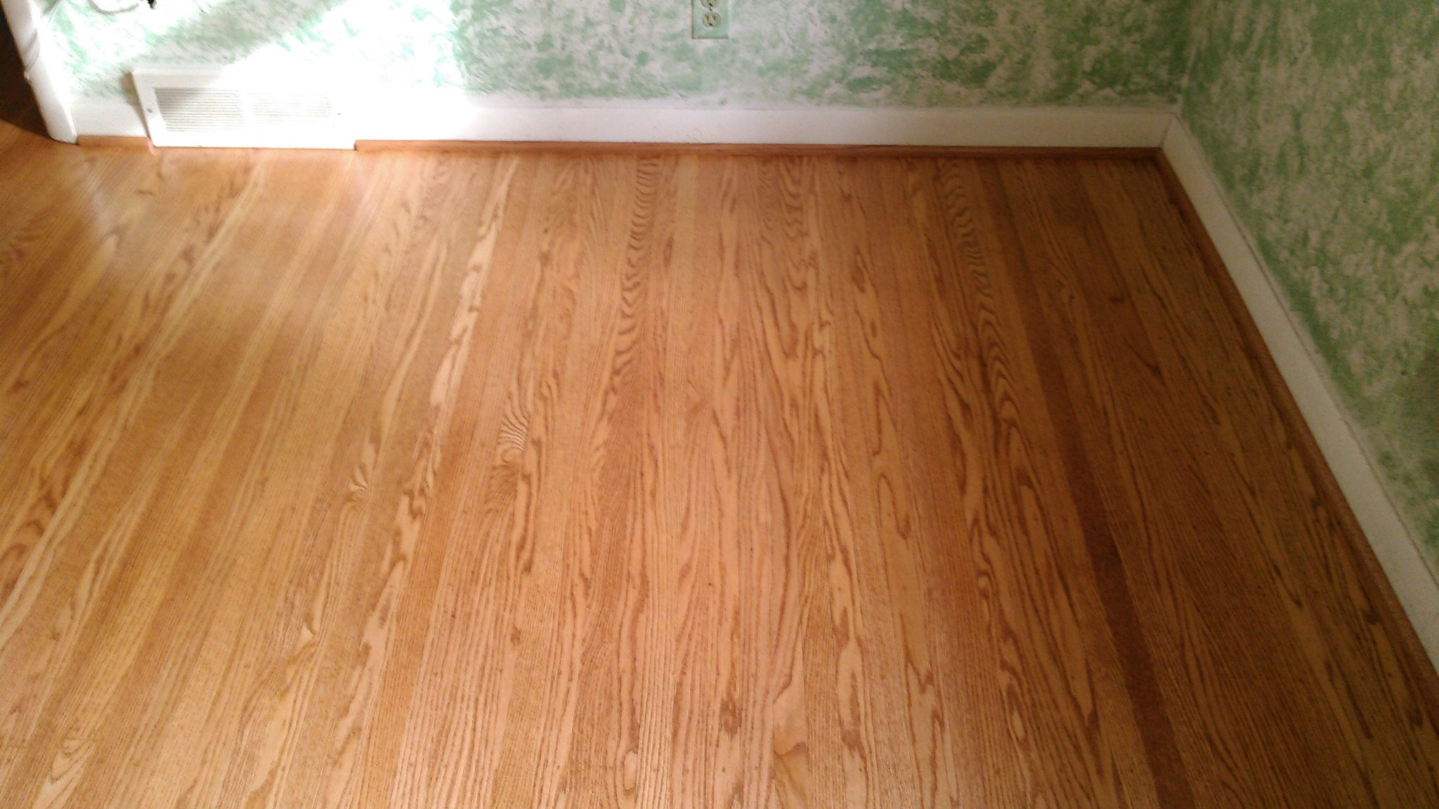 Red Oak Stained